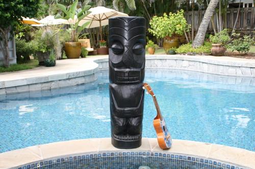 "Easter Island Tiki Totem 40"" - Modern Pop Art Culture | #dpt5166100"