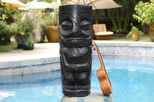 "Big Kahuna Tiki Totem 20"" - Modern Pop Art Culture   #dpt516650"