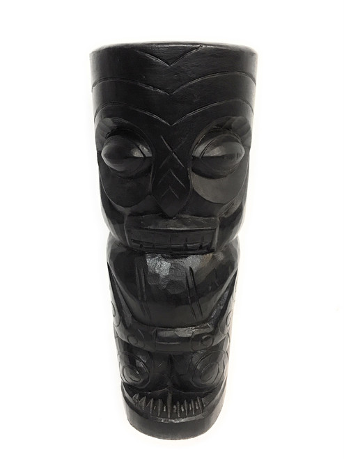 "Big Kahuna Tiki Totem 20"" - Modern Pop Art Culture 