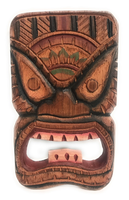 "Winner Tiki Shield Mask 8"" Plaque - Pop Art Culture 