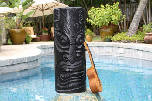 "Big Chief Tiki Totem 20"" - Hand Carved | #dpt516750"