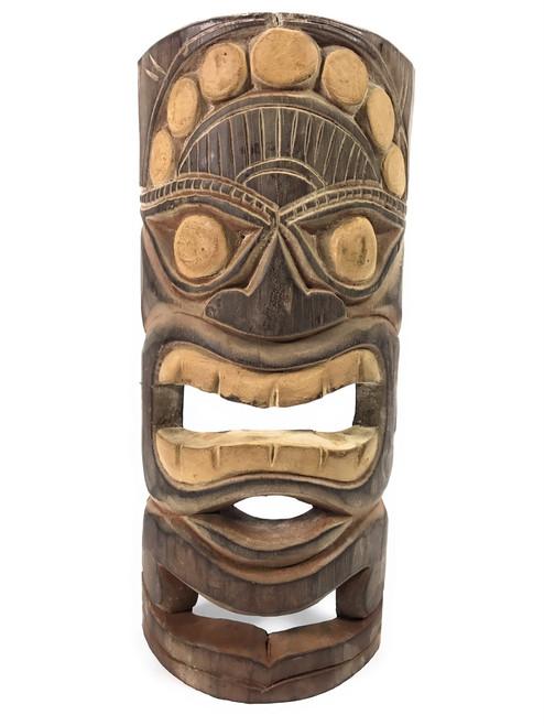 "Earth Tiki Mask 12"" - Good Crop Tiki Idol | #dpt513330"