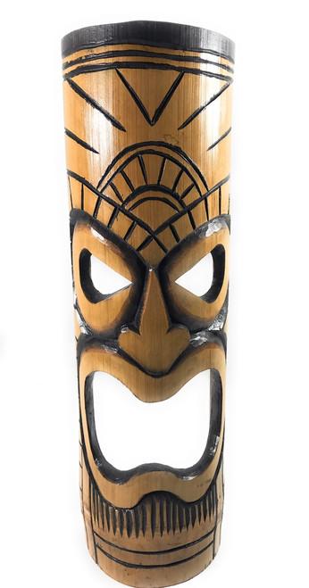 "Warrior Chief bamboo Tiki Mask 20"" | #dpt509750"