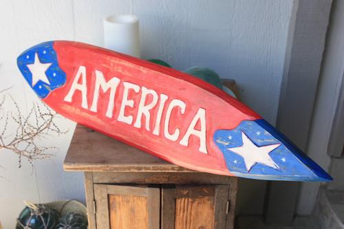 "America Americana Surf Sign 40"" USA Texas Decor | #dpt530100"
