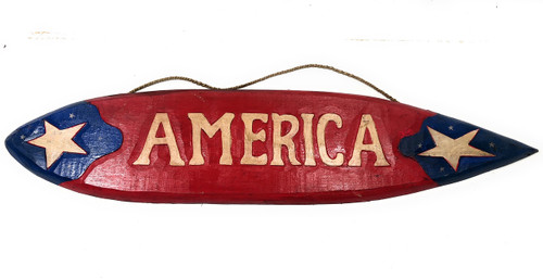 "America Americana Surf Sign 40"" USA Texas Decor 