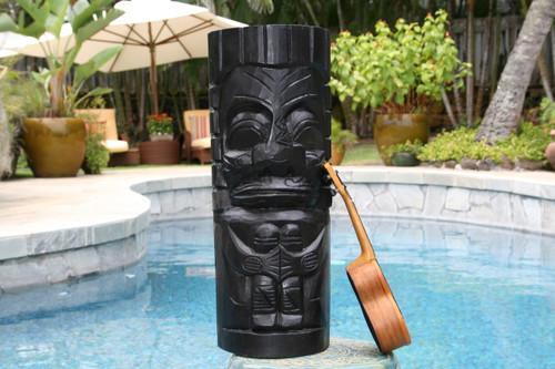 "Easter Island Tiki Totem 20""   #dpt516850"