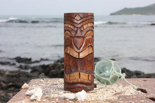 "Laughing  Tiki Totem 6"" - Antique Finish - Hawaii Gifts   #dpt535915d"