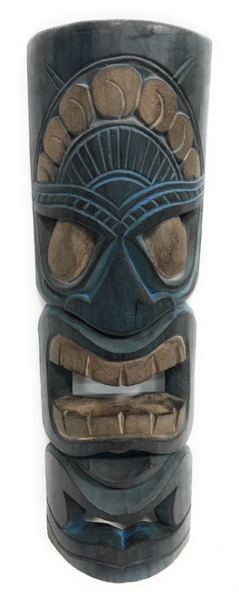 "Ocean/Fishing Tiki Mask 20"" - Wall hanging 