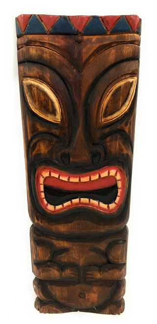 "Tiki Mask 20"" Wall Plaque - Easter Island 