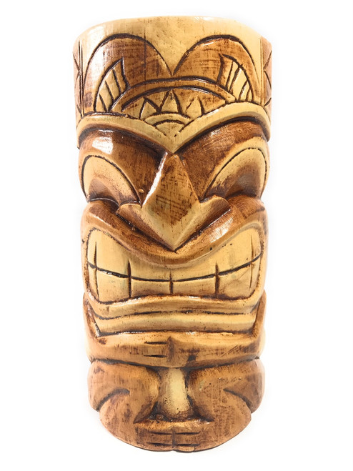 "Money tiki mask 8"" - Hand Carved 
