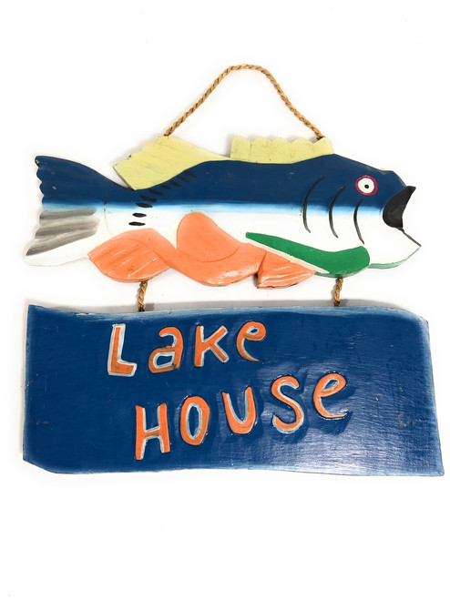 """Lake House Sign 15"""" - Decorative lake Cabin Accents   #dpt521540"""