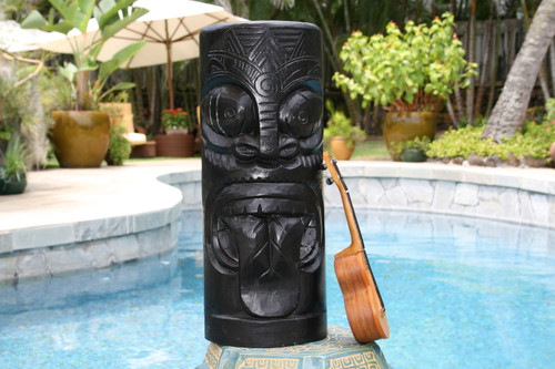 "Maori Tiki Totem 20"" - Modern Art Pop Culture | #dpt516950"