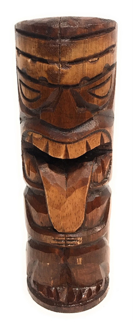 "Strength Tiki Totem 8"" - Antique Finish - Hawaii Gifts 