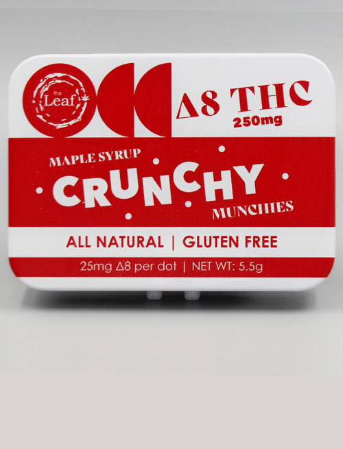 D8 Crunchy Munchies - Maple Syrup 250 mg