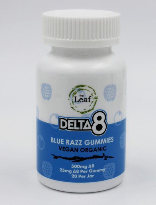 D8 Sour Blue Raspberry Gummy 25mg