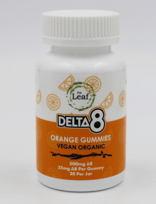 D8 Orange Gummy 25mg
