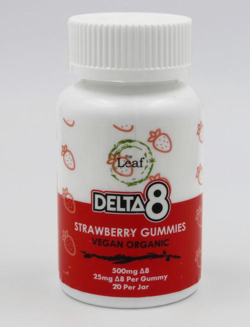 D8 Gummies 500mg Strawberry 20ct