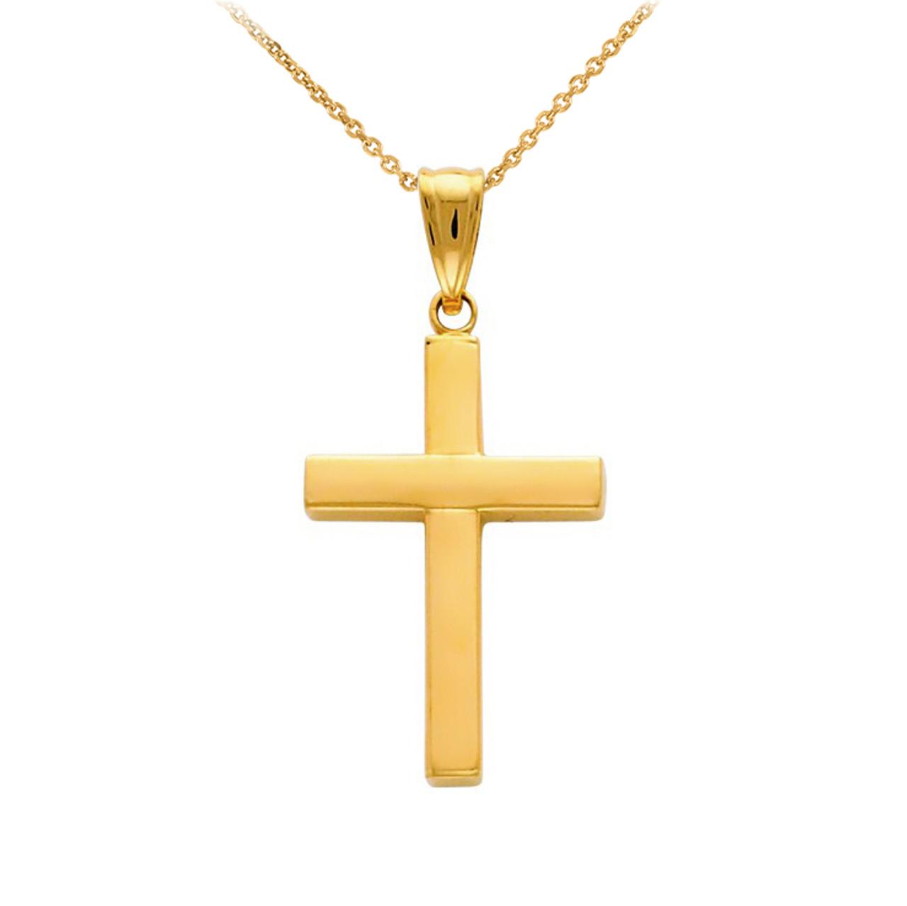 f5b3407ff7425 14K Gold Pendant Cross