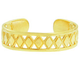 Yellow Gold Puzzle Toe Ring
