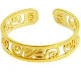 Classy Yellow Gold Toe Ring