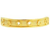 Yellow Gold Circular Toe Ring