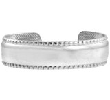 Bold Classic White Gold Toe Ring