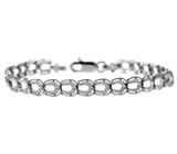 White Gold Bracelet - The Horseshoe Bracelet