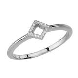 Gold Open Diamond Ring Set