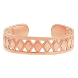 Rose Gold Puzzle Toe Ring