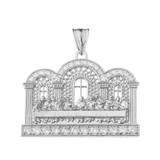 The Last Supper Pendant Necklace in Sterling Silver