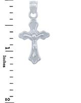 Silver Crucifix Pendant - The Star Crucifix
