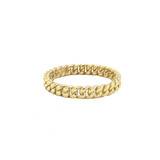 3MM Cuban Link Band in Gold (Yellow/Rose/White)