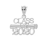 Class of 2020 Pendant Necklace in Sterling Silver