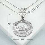 white-gold-crescent-moon-star-mosque-with-islamic-Characters-pendant-necklace