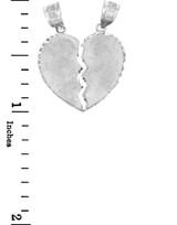 Pendants - Breakable Heart Silver Pendant