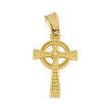 Gold Celtic Cross Pendant