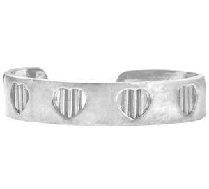 Silver Bar Toe Ring