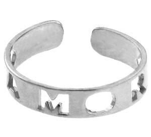 "Silver ""AMOR"" Toe Ring"