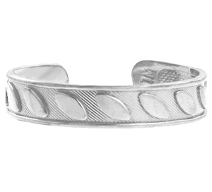 Fancy Marquis White Gold Toe Ring