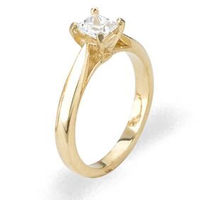 Ladies Cubic Zirconia Ring - The Sade Diamento