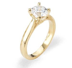 Ladies Cubic Zirconia Ring - The Neha Diamento