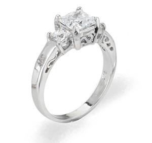 Ladies Cubic Zirconia Ring - The Odalis Diamento