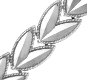 White Gold Bracelet - The Tulip Bracelet