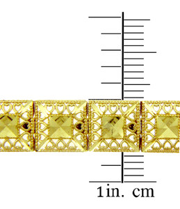 Yellow Gold Bracelet - The Alia Bracelet