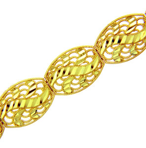 Yellow Gold Bracelet - The Versaille Bracelet