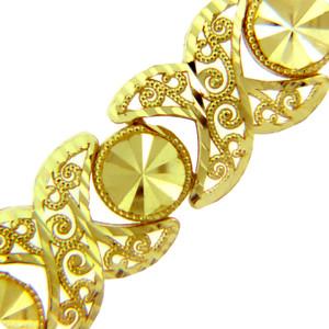 Yellow Gold Bracelet - The Nova Bracelet
