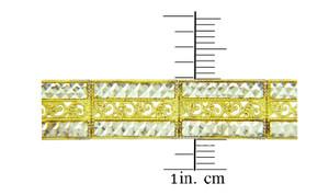 Two-Tone Gold Bracelet - The Fancy Link Bracelet