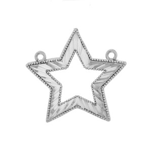 Chic Star Necklace in Sterling Silver