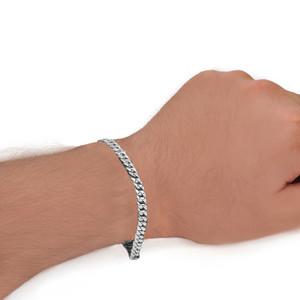 Cuban Link Bracelet 5.6mm In Sterling Silver