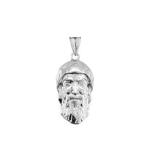 Saint Charbel/Sharbel Makhlouf Pendant Necklace in Sterling Silver
